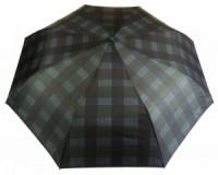 Deštník pánský vystřelovací károvaný modrý 9143-2 9143-2