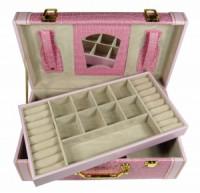 Šperkovnice kufřík světle růžová 5697-2 5697-2