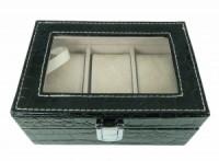 Šperkovnice na hodinky / náramky černá 5844-2 5844-2