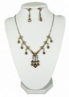 Soupravy bižuterie náhrdelník a náušnice žluté květinky 2531 2531